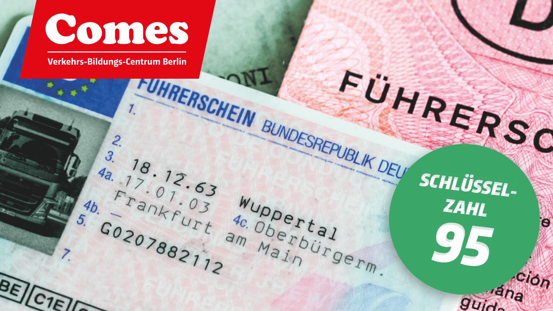 Fahrschule Comes in Berlin + Lkw Führerschein machen Lkw Führerschein Kl_C_CE Kosten VerkehrsBildungsCentrum Comes Berufskraftfahrerausbildung