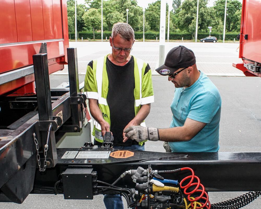 Perfektionstraining machen in der Berufskraftfahrer Ausbildung in Berlin